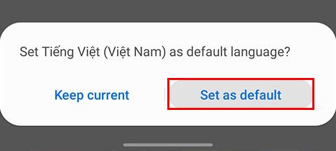 Bạn nhấn chọnSet as defaultlà bạn đã thay đổi ngôn ngữ trên Zoom.