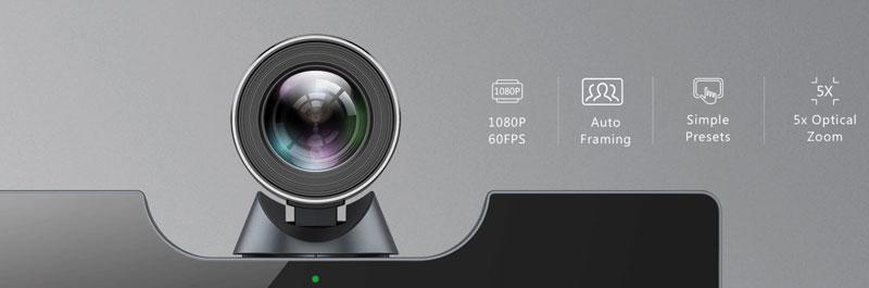 Nhìn rõ mọi người - UVC50 Camera PTZ quang 5x