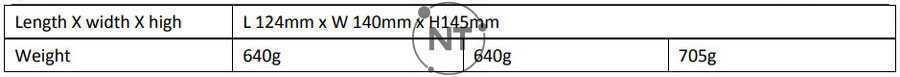 Bảng thông số kỹ thuật giữa các mã Oneking HD652/3/4 Series