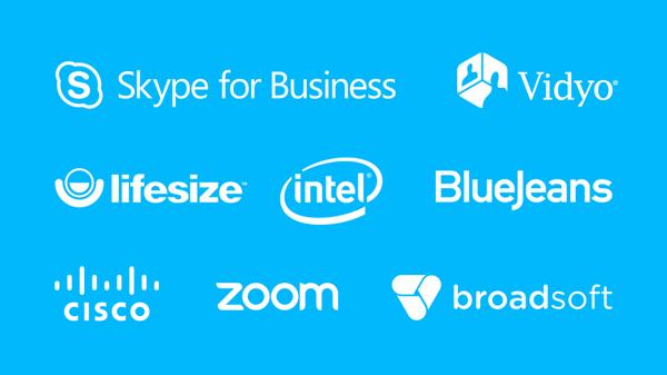 C930e được chứng nhận tương thích với Skype for Business và Cisco Jabber™, và tích hợp nâng cao với BlueJeans, Broadsoft, LifeSize Cloud, Vidyo và Zoom.