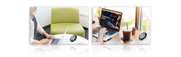 Yealink CP700 là loa di động USB / Bluetooth có chất lượng âm thanh tuyệt vời