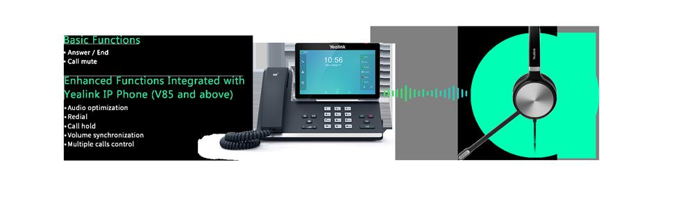 Tai nghe USB Yealink UH36 - Tích hợp gốc và quản lý dễ dàng