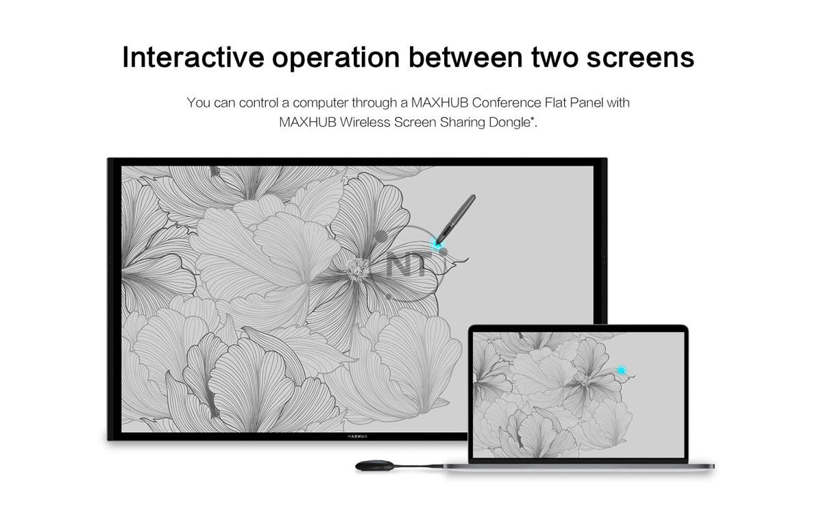 Thiết bị chia sẻ màn hình không dây MaxHub WT01A