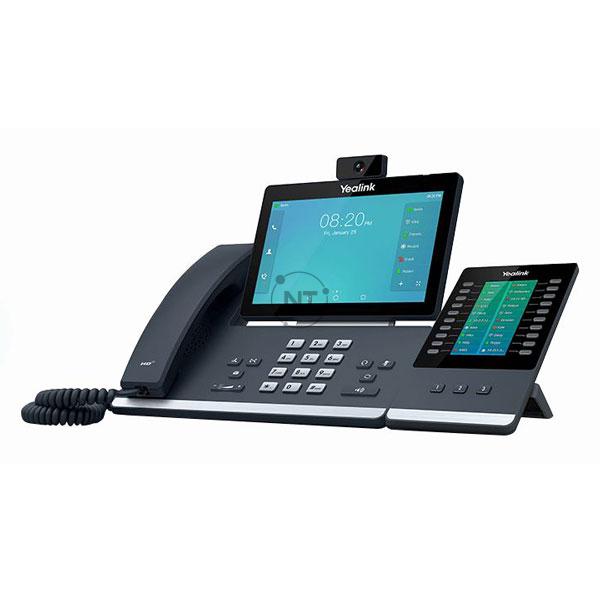 T58A with Camera + EXP50 - Kết nối tối đa 3 Mô-đun mở rộng EXP50 (Thanh trượt tự điều chỉnh với màn hình màu) để có thêm các phím dòng