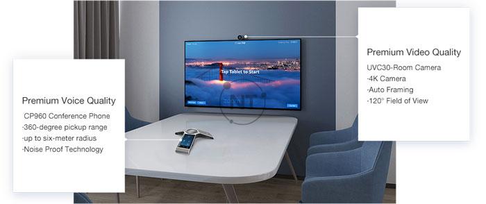 Yealink ZVC300 - Giúp trải nghiệm Zoom Rooms tự nhiên