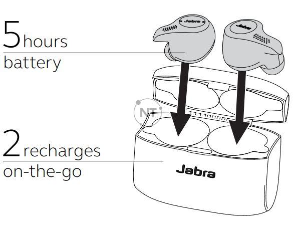 Cách sạc Jabra Evolve 65t