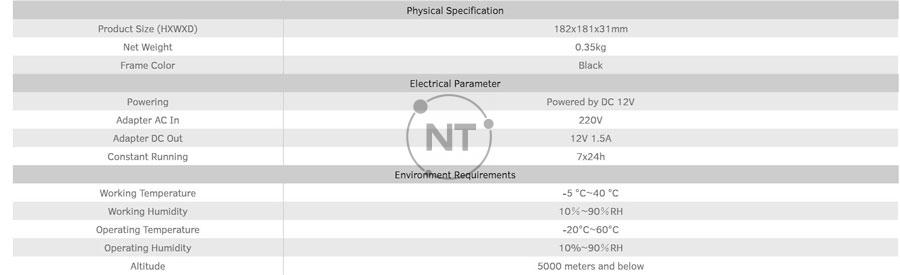 Thông số kỹ thuật của bộ trình chiếu không dây MaxBub WB01