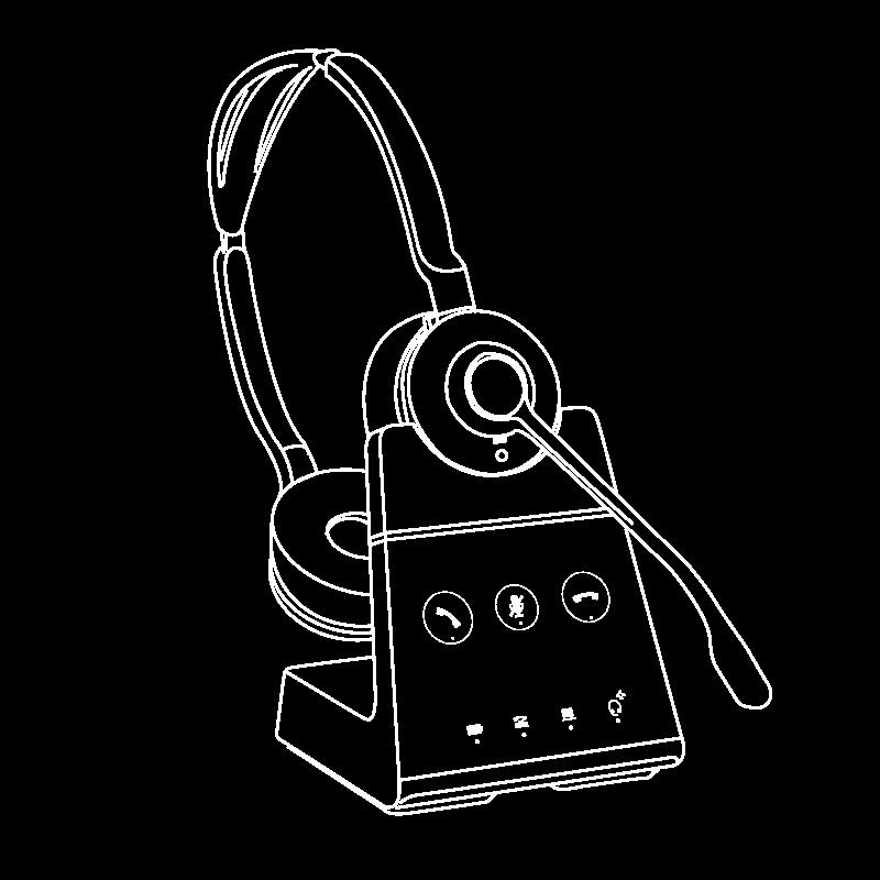 Tai nghe Jabra Engage 65 Stereo/Mono