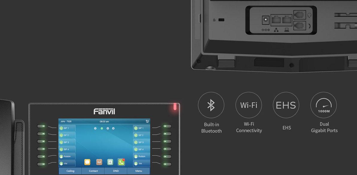 Fanvil X7C nts06 X7C Fanvil - Trung Quốc NgocThienSupply