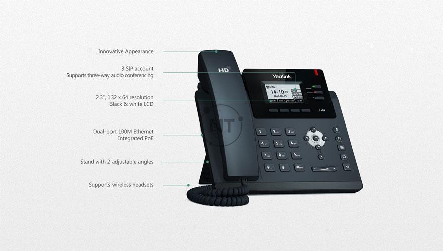 Điện thoại IP Yealink SIP-T40P/ T40G