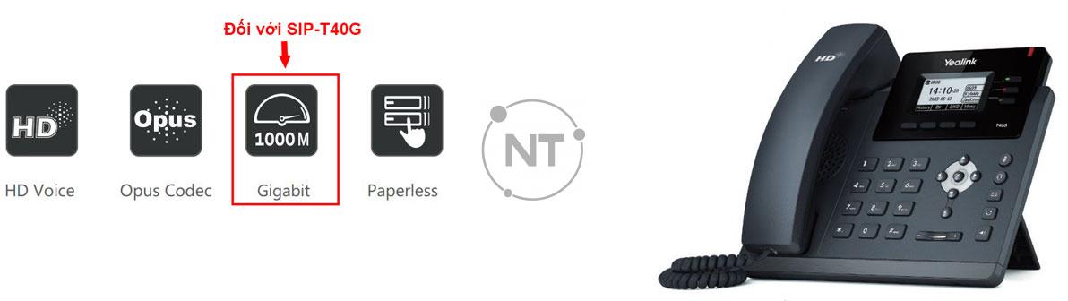 Điện thoại IP SIP-T40P/ T40G