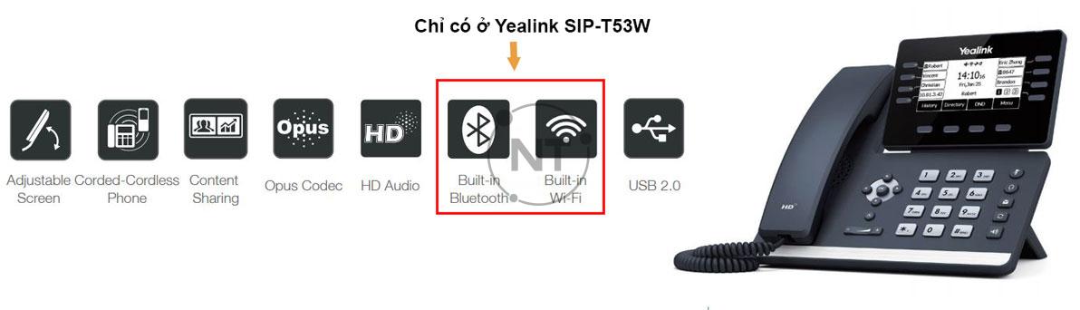 Yealink SIP-T53/ T53W