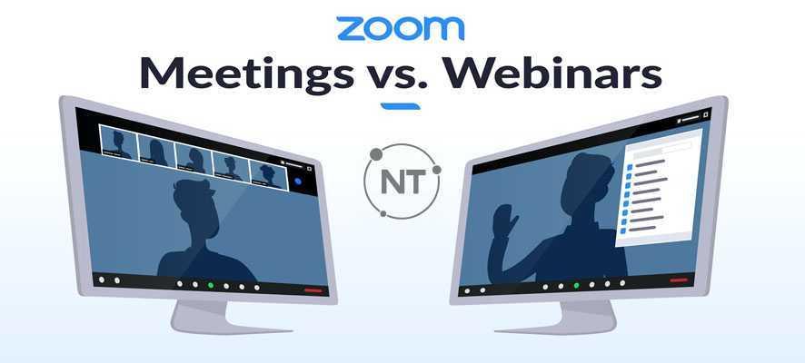 So Sánh Zoom Meetings Và Zoom Video Webinars