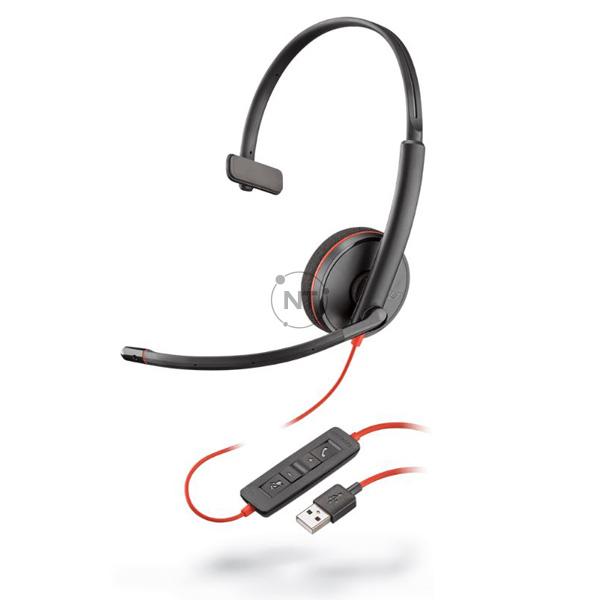 Blackwire 3210, USB-A P/N: 209744-101