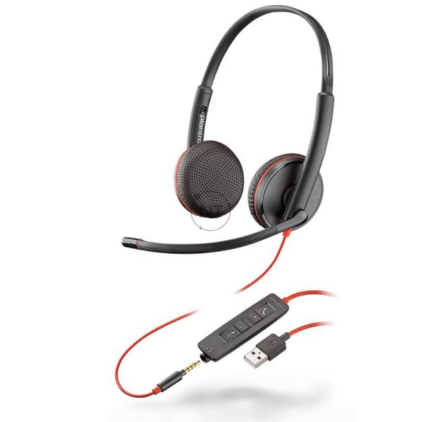 Blackwire 3225, USB-A P/N: 209747-22