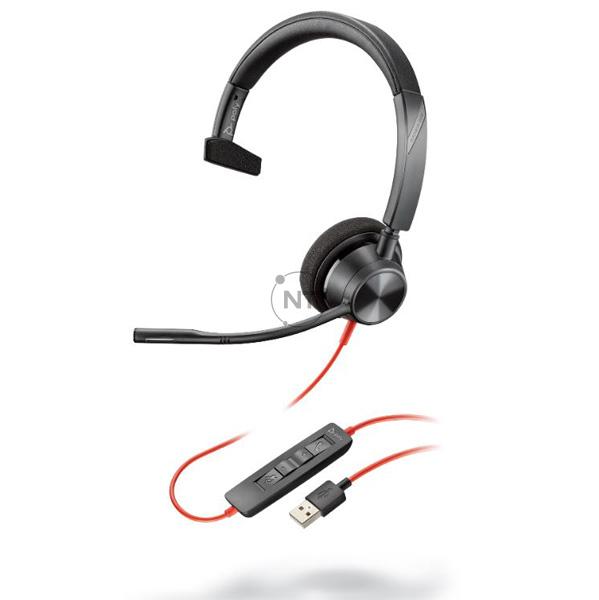 Blackwire 3310, Usb-A (P/N: 213928-01)