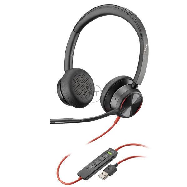 Blackwire 8225, USB-A (P/N: 214406-01)