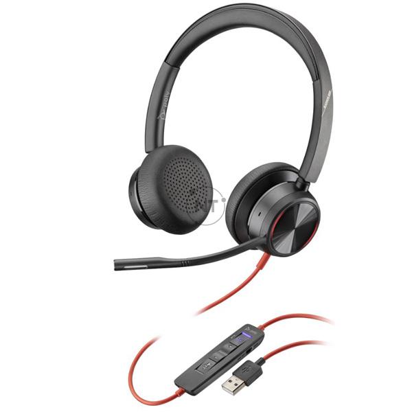 Blackwire 8225, Microsoft, USB-A (P/N: 214408-01)