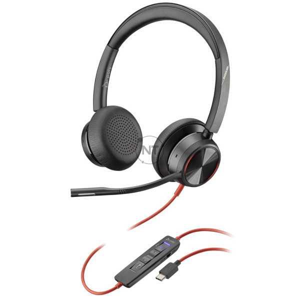 Blackwire 8225, Microsoft, USB-C (P/N: 214409-01)