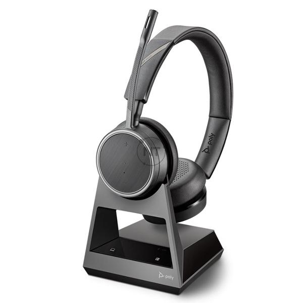 Voyager 4220 Office, 2-Way Base, USB-C (P/N: 214592-08)