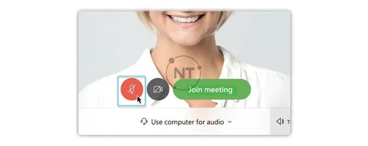 tham gia cuộc họp với âm thanh bị tắt tiếng với cisco webex meetings