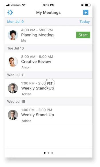 Cách bắt đầu cuộc họp Webex trên iOS/Android