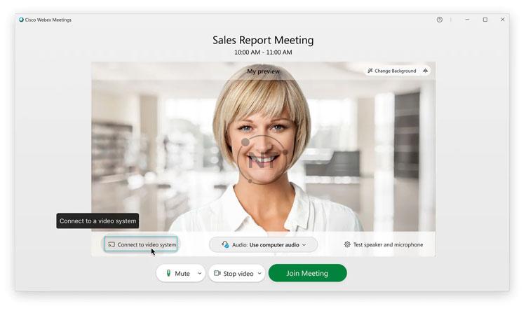Hướng dẫn chi tiết cách kết nối với hệ thống video trên Webex Meetings Desktop App (dành cho các phiên bản mới)