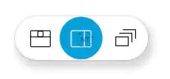 Để chuyển đổi hiển thị chế độ xem Side-by-Side View