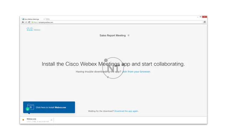 Tham gia cuộc họp webex meetings từ Windows/Mac