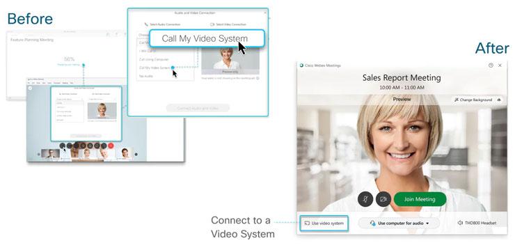 Hướng dẫn cách kết nối hệ thống video với Webex Desktop App