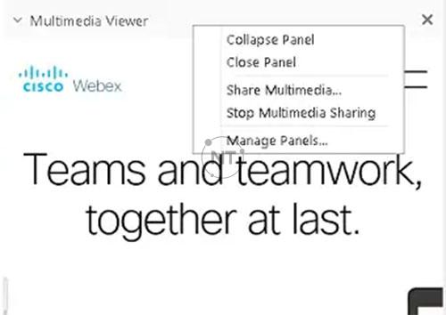 Cách chia sẻ Nội dung Đa phương tiện trong Multimedia Viewer