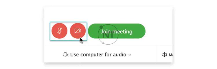 Nếu bạn muốn tham gia cuộc họp với video đã tắt, hãy nhấp vào Turn off my video