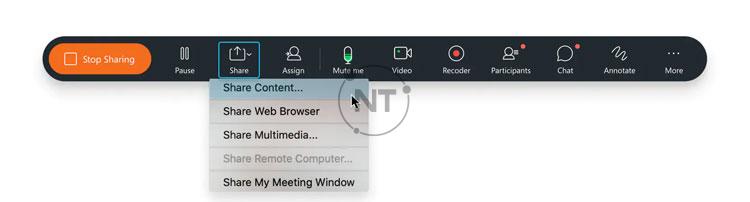 thay đổi cài đặt tối ưu hóa của mình khi đang chia sẻ nội dung trên Webex Meetings