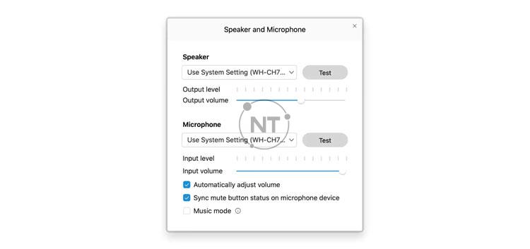 Cách cài đặt âm thanh trên Webex Meetings (dành cho phiên bản mới)