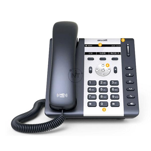Điện thoại IP wifi Atcom A10W