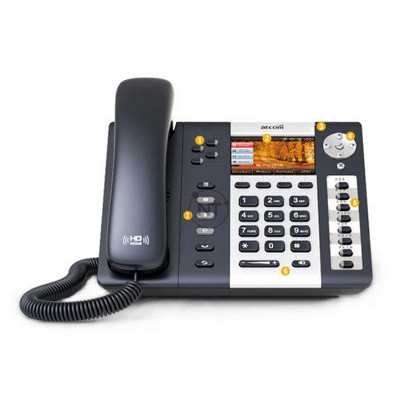 Điện thoại IP 4G Atcom A48LTE