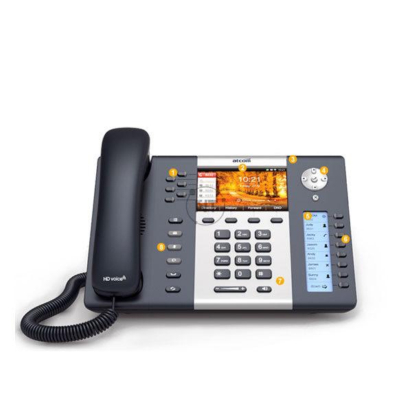 Điện thoại IP 4G Atcom A68LTE