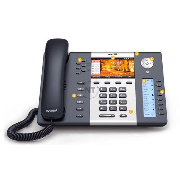 Điện thoại IP Wi-fi Atcom A68W/A68WAC