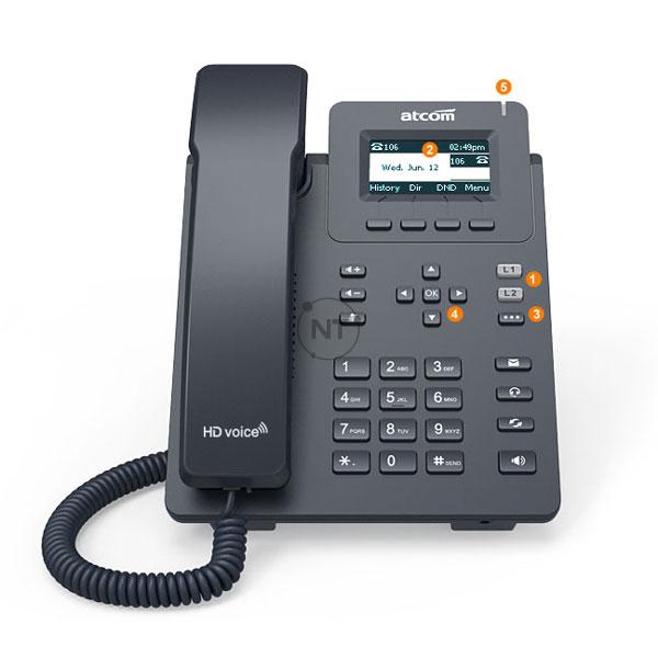 Điện thoại IP Atcom D20/D21