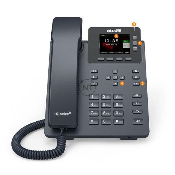 Điện thoại IP Atcom D32/D33