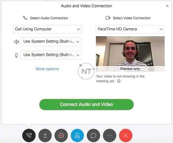 Cách Kết nối âm thanh và video trên Cisco Webex Meetings