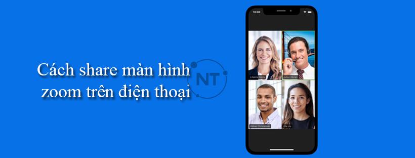 Cách share màn hình zoom trên điện thoại