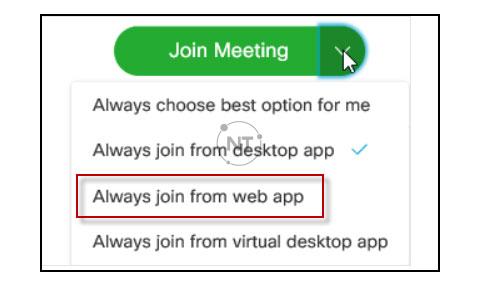 Các lỗi thường gặp khi dùng Webex Meetings và cách khắc phục
