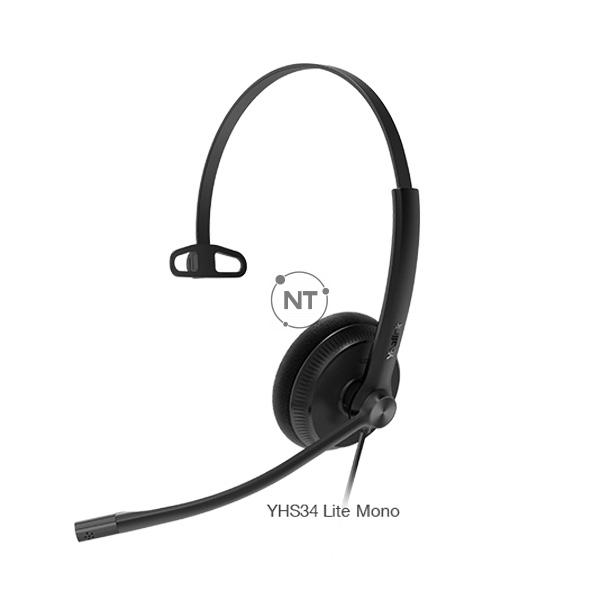 Tai nghe Yealink YHS34 & YHS34 Lite Dual/Mono