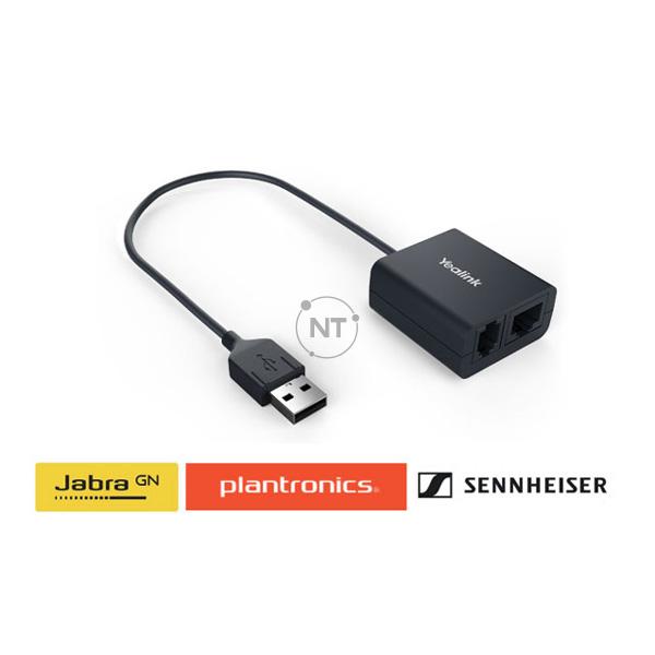 Thiết bị adapter tai nghe không dây Yealink EHS40