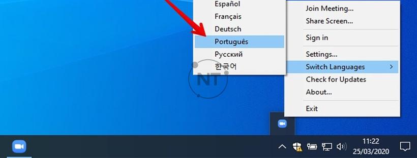 Cách đổi ngôn ngữ trong Zoom