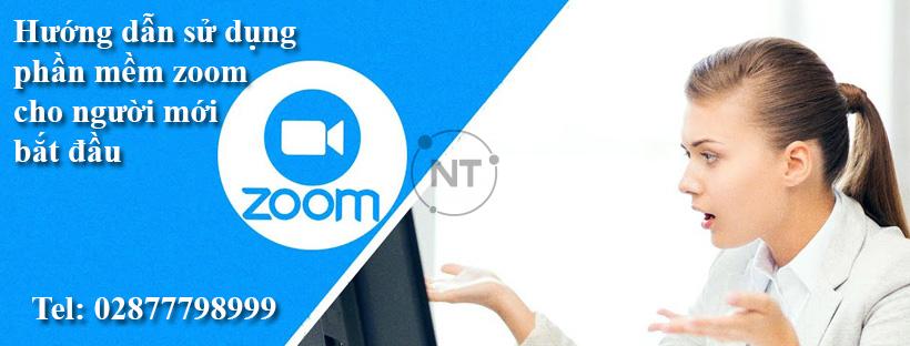 Hướng dẫn sử dụng phần mềm zoom cho người mới bắt đầu