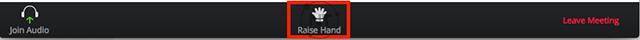 tính năng giơ tay