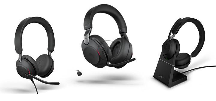 Sự khác biệt tai nghe USB Jabra Evolve2 (40, 65, 85)