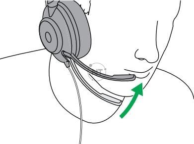 Khi sử dụng micrô, micrô nên được đặt gần miệng của bạn.